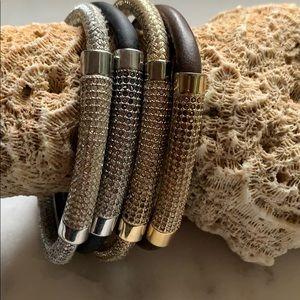 Fossil Multicolor Magnet Bracelet Bundle